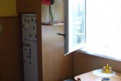 Magnetky na lednici, popelník a koš