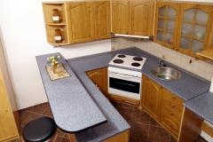 Kuchyň v garsonce